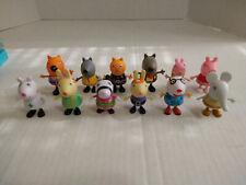 "Jazwares PEPPA PIG Lot of 12 Action figures 2.5"""