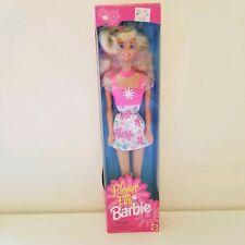 Flower Fun Barbie 1996 NIB 16063