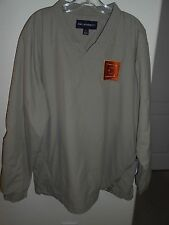 Men's Port Authority Windbreaker Pullover Golf Jacket Size L Free Shipping!