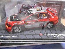 MITSUBISHI Lancer WRC 9 Rallye Monte Carlo 2005 #10 Panizzi SP IXO Altaya 1:43