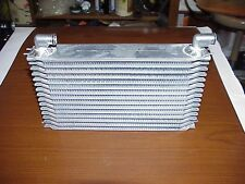 """NEW Aluminum 10-3/4"""" x 5-3/4"""" x 2"""" Oil Cooler with -08 Wiggins Fittings RS28"""