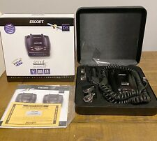 Escort Passport 9500ix Radar Detector - Blue Display. Original Case & Manuals