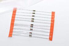 10x Mil Spec résistance des Oerlikon CONTRAVES, 220 ohm, 0.125 W, NOS