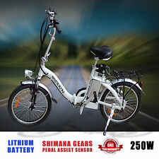 Bicycle Electric City eBike Foldaway Foldable Bike with Lithium-Ion Battery