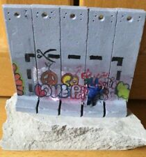 BANKSY Walled Off Hotel Wall Section Souvenir CUT IT OUT! Sculpture - ULTRA RARE