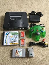 Nintendo 64 N64 Console W/ Controller, Madden, Rumble Pack - Tested!