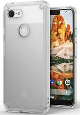 Google Pixel 3 XL Case Crystal Clear Silicone Defence Anti Drop Cover Protector
