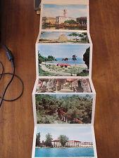 Penang Malaya Malyasia Folding Color Vintage Postcard
