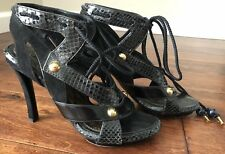 AUTHENTIC LOUIS VUITTON HEELS, SZ 36.5 MADE IN ITALY
