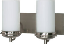 Nuvo 60/495 Polaris 2 Light Brushed Nickel Vanity Wall Light