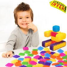 Sensory Blocks Piece Builder Toy Educational Autism Special Needs Basic Bucket