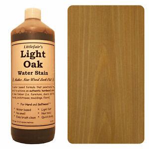 Littlefair's Water Based Environmentally Friendly Wood Stain / Dye - Light Oak