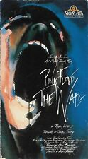 Pink Floyd: The Wall (VHS) The Movie Roger Waters, David Gilmore