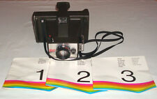 Vintage 1970's Polaroid Minute Maker Land Camera with Manuals Made in USA