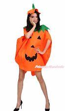 Halloween Party Cute Orange Pumpkin Vegetables 2pc Adult Unisex Costume Cosplay