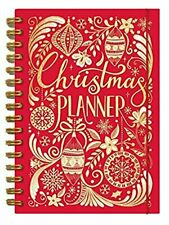 Rachel Ellen 5 Year Sectioned Christmas Planner Organiser