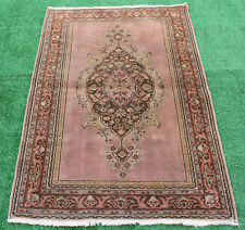 Turkish Rug 35''x55'' Kayseri Vintage Anatolian Primitive Carpet 2'9''x4'5'