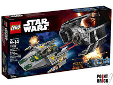 LEGO 75150 STAR WARS Rebels TIE Advanced di Darth Vader Vs A-Wing Starfighter