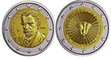 Beide 2€ Gedenkmünzen Griechenland 2018 Palamas und Dodekanisa 2018