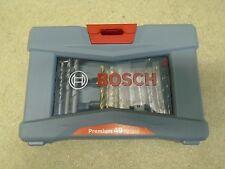 BOSCH 49 PZ Premium Set METALLO LEGNO MURATURA Aneto bit, bit titolare Svasatura