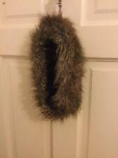 ASOS brown Faux Fur Hat Headband