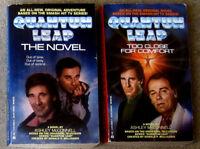 LOT 2 QUANTUM LEAP: The Novel  & Too Close for Comfort TV Tie-In Scott Bakula