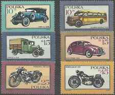 Timbres Véhicules Voitures Motos Pologne 2902/7 ** lot 26296