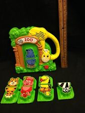 LeapFrog Zoo Animals Fridge Phonics Magnetic Learning System GUC