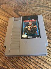 WCW World Championship Wrestling Original Nintendo NES Game Cart PC5