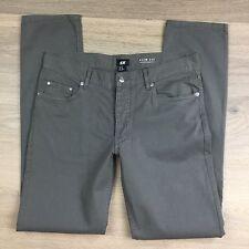 H&M Slim Fit Grey Women's Pants Size 30 Fit W32 L32 (Y14)