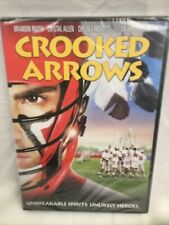 Crooked Arrows DVD 2012 Lacrosse Movie PG - 13, NEW SEALED!