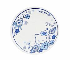 Sanrio Hello Kitty Medium Plate Dish Ceramic Kitchen Ware : Flower