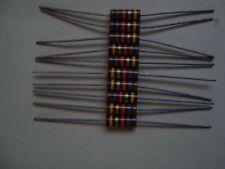 10 pcs., Allen Bradley, Widerstand, Carbon Comp Resistors 18Kohm 1W, 5%, NOS