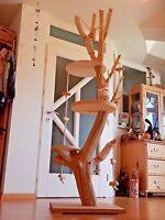Kratzbaum Natur Katzenbaum Kletterbaum Spielbaum Sisal 193c handgefertigt Unikat
