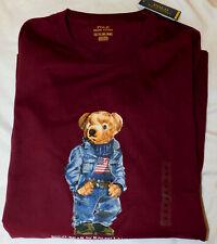 New Men's Special Edition Polo Ralph Lauren Polo Bear T-Shirt 2XLT Tall