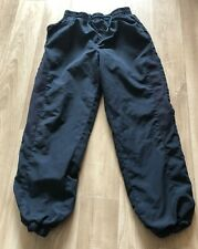 Boys Navy Blue Sports Trousers Size 7 Years
