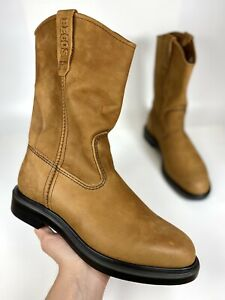 """Red Wing 1105 Pecos SuperSole Leather Pull On Western Soft Toe 11"""" Work Boots"""
