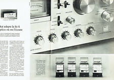 Publicité Advertising 107  1979   Akai (2p) chaine hi-fi ampli AM 2950