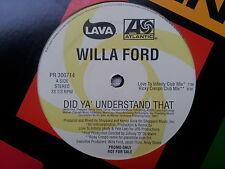 Willa Ford - Did ya´ understand that