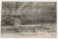 Reste Usine de Tissage Armentieres France 1910c postcard