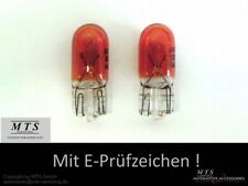Glühbirne 5 5W WY5W Seitenblinker Lampen Birnen Orange