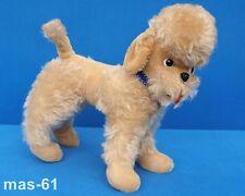 Cmb Carl Moritz esfuerzo perro de pie Dog mohair peluche RDA Vintage