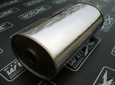 "Universal Silencer SS Box 2.5"" Bore 9x7""x450mm Long"