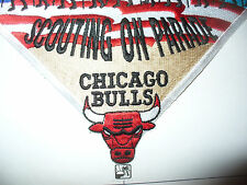 1998 NBA Chicago Bulls Basketball, Scout Parade,JP, NE Illinois Council,OA 40,IL
