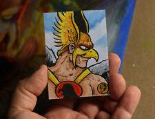 Hawkman DC Comics Original Art Sketch Card 1/1 JLA Robert Jimenez