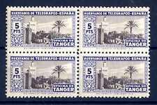 SPAIN-TANGIER - SPAGNA-TANGERI - 1946 - Francobolli di beneficenza ABA516
