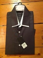Cotton Blend Button Cuff Tuxedo, Dress Formal Shirts for Men