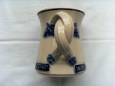 Unusual, Attractive Complimentary/Promotional Twisted Handle Mug from K.W.Sadler