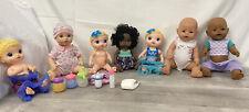 Lot of 7 Baby Dolls, Baby Alive Dolls  Zapf Creation Dolls Geoffrey Doll