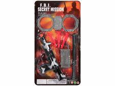 Geheimagent FBI Spielzeug Set 4-teilig LG 2628 von Alsino